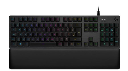 Logitech G G513 RGB Linear Mechanical Gaming Keyboard - Carbon, 920-008855