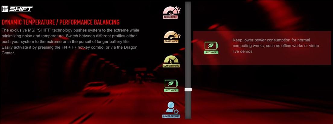 Msi Dragon Center Turbo Mode Settings