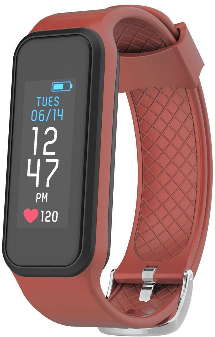 Image of (Open Box) Archon Move Red Heart Rate Fitness Activity Tracker