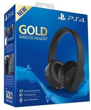 Sony PlayStation Gold Wireless Headset (CUHYA-0080), 711719455165