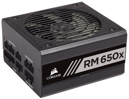 CP-9020178-UK, Corsair RM650x (2018) - 650W 80 PLUS Gold Fully Modular PSU Power Supply