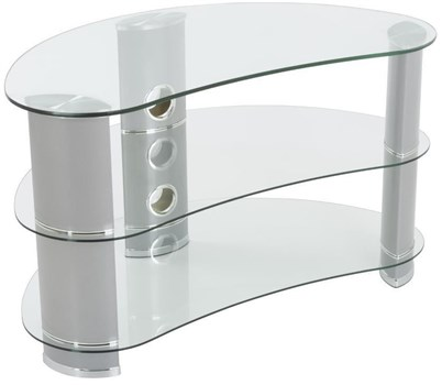 AVF FS850CURCS Reflections - Jelly Bean Curved TV Stand,