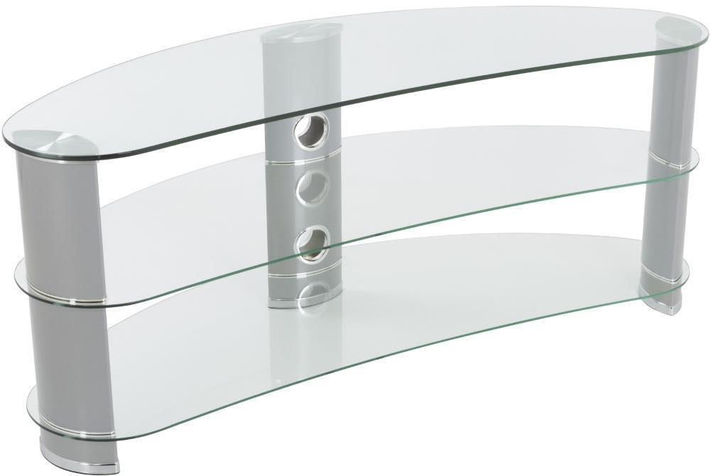 AVF FS1200CURCS Reflections - Jelly Bean Curved TV Stand