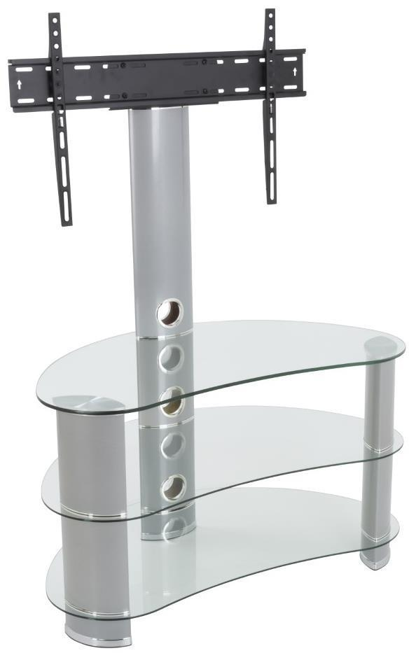 AVF FSL850CURCS Reflections - Jelly Bean Curved Pedestal TV Stand