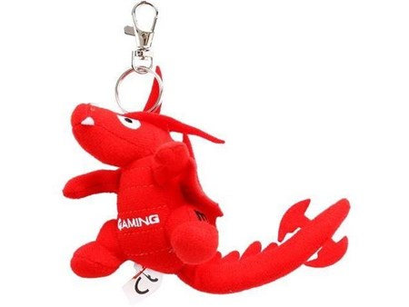 MSI Lucky the Dragon Small Keyring - Red, GF0-N1XXX32-SI9