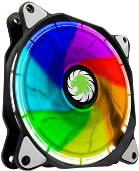ECLIPSE RGB, Game Max RGB 120mm Ring Case Fan - Single Pack
