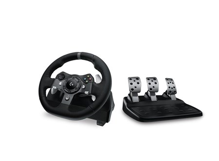 4c5114e035d (Open Box) Logitech G G920 Driving Force Racing Wheel for Xbox One & PC  941-000124(C)
