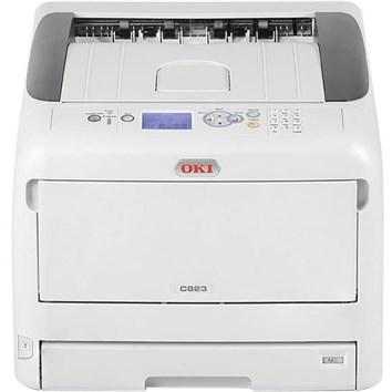 OKI C823N A3 Colour Laser Printer & Toner Value Pack