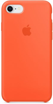 Apple iPhone 8   7 Silicone Case Spicy Orange MR682ZM A e44b152f815