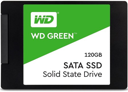 "WDS120G2G0A, WD Green 120GB 2.5"" SSD"