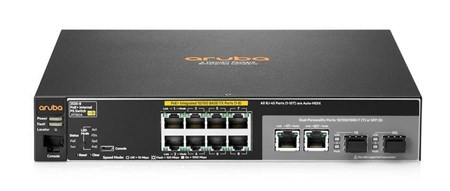 J9780A, Aruba 2530 8 PoE+ (J9780A) 10 Port Managed Switch
