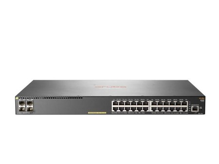 JL261A, Aruba 2930F 24G PoE+ 4SFP (JL261A) 28 Port Managed Switch