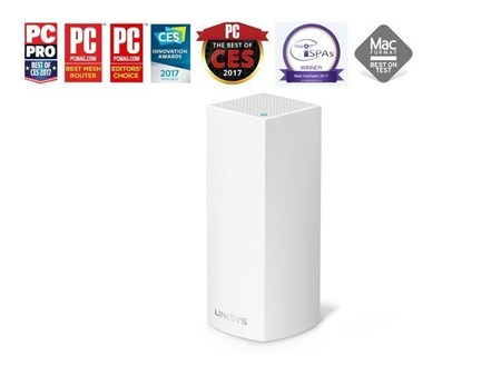 WHW0301-UK, Linksys Velop Whole Home Mesh Wi-Fi System (Pack of 1)
