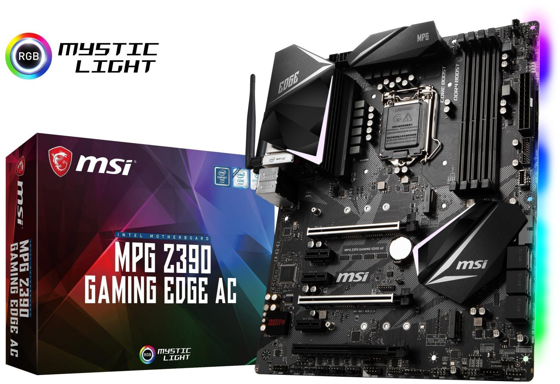 MSI - MPG Z390 GAMING EDGE AC