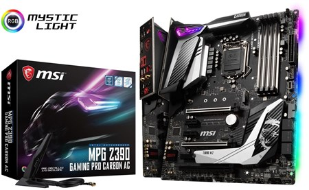 MPG Z390 GAMING PRO CARBON AC, MSI AC Motherboard