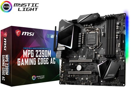 MPG Z390M GAMING EDGE AC, MSI AC Motherboard