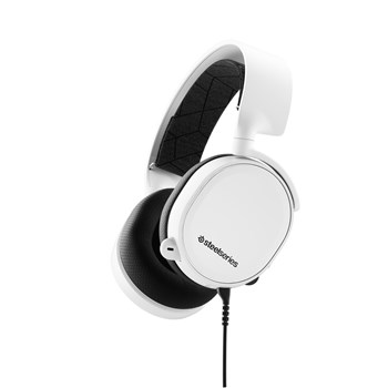 SteelSeries Arctis 3 White (2019 Edition) Gaming Headset, 61506