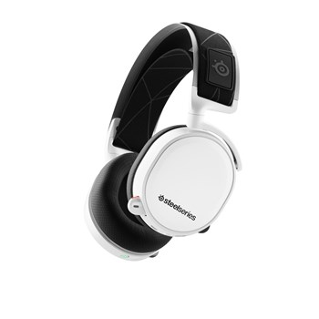 SteelSeries Arctis 7 White (2019 Edition) Gaming Headset, 61508