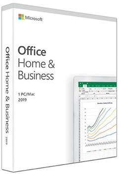 Microsoft Office Home & Business 2019 (Product Key Card), T5D-03216