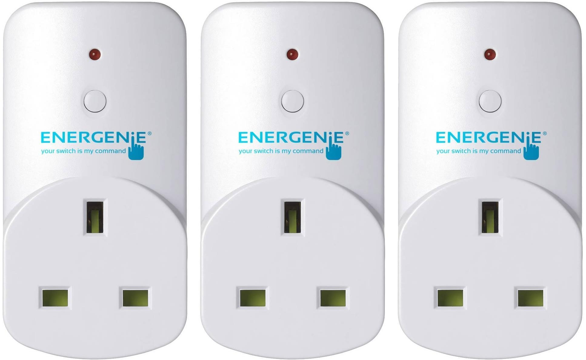 Energenie Mi Home Control Adapter Smart Plug 3 Pack