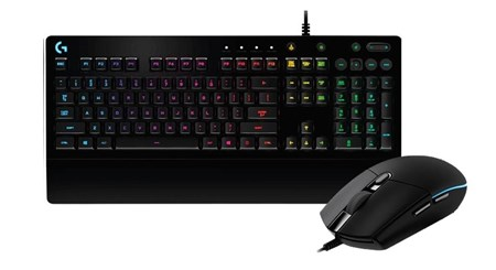 Logitech G G213 Prodigy RGB Gaming Keyboard + G203 Mouse Bundle, 920-008091