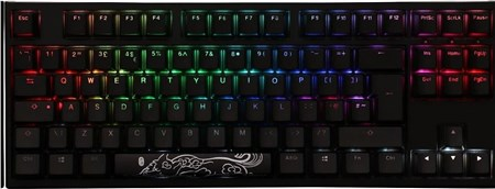 Ducky One2 TKL RGB Backlit Speed Silver Cherry MX Switch, DKON1787ST-PUKPDAZT1