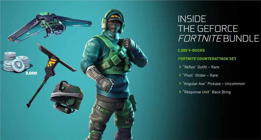+ Nvidia Fortnite Bundle