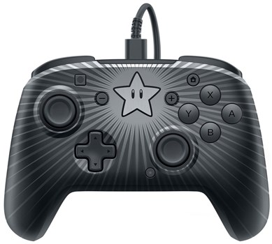 PDP Faceoff Wired Pro Controller - Super Mario Star Edition, 500-056-EU-D1