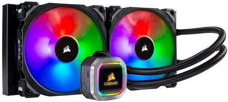 CW-9060038-WW, Corsair Hydro Series H115i RGB PLATINUM 280mm Liquid CPU Cooler
