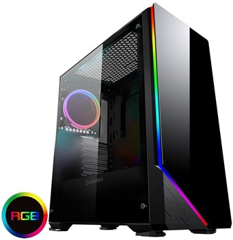 GMX-SHADOW, Game Max Shadow RGB Tempered Glass Mid Tower Case