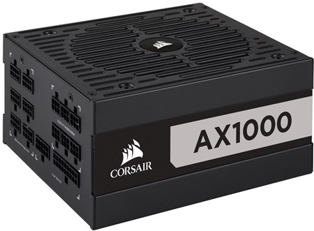 CP-9020152-UK, Corsair AX Series AX1000 1000W 80 PLUS Titanium Fully Modular PSU Power Supply