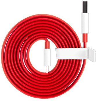 OnePlus Type-C Fast Dash Charge Cable 1 Metre Red, 0202003201