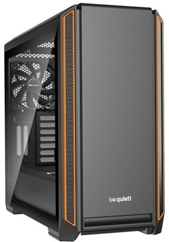 BGW25, be quiet! Silent Base 601 Tempered Glass Window Orange - Mid Tower Case