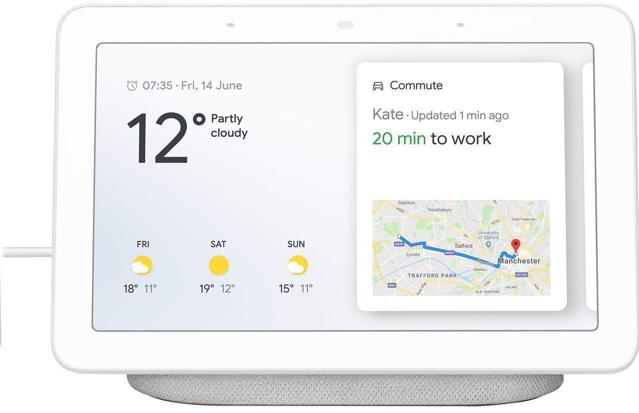 Google Home Hub Smart Home Assistant Chalk
