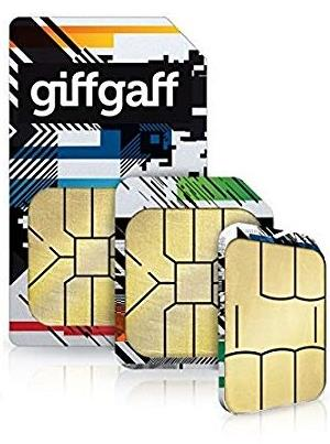 Giffgaff PAYG SIM Card Top Up £10 A Month To Get 3GB Data Unilimited Texts & Unlimited Minutes