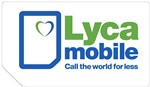 Lyca PAYG SIM Card Top Up £10 A Month To Get 3GB Data 100 International Minutes Unilimited Texts & Unlimited Minutes