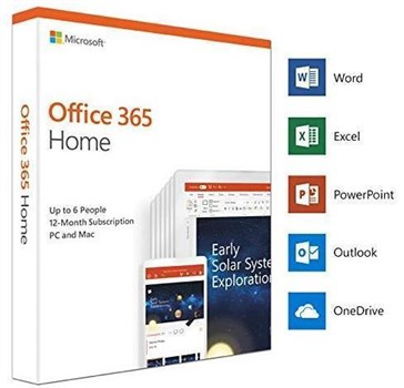 Microsoft Office 365 Home 2019 (Product Key Card), 6GQ-01076