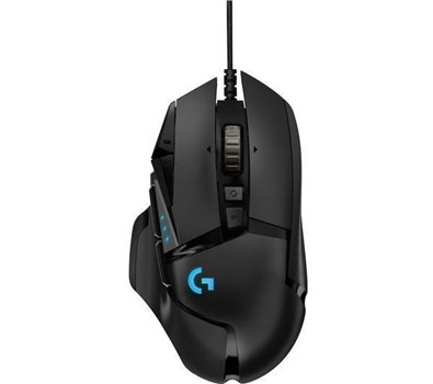Logitech G502 Hero High Performance Gaming Mouse, 910-005471