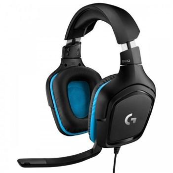 dff638c60f1 Logitech G G432 7.1 Surround Sound Gaming Headset, 981-000770