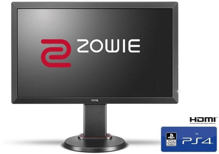 "BenQ ZOWIE RL2460S 24"" Full HD 75Hz Gaming e-Sports Monitor-Officially Licensed for PS4™, 9H.LHJLB.QBE"