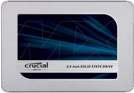 "CT500MX500SSD1, Crucial MX500 500GB 2.5"" SSD"