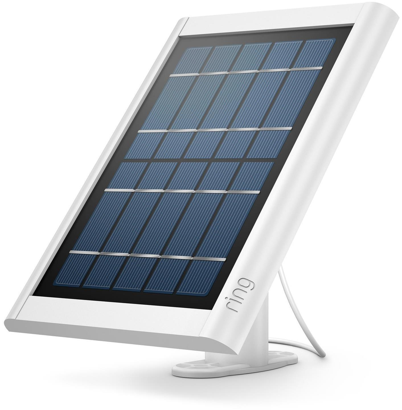 Ring Solar Panel Charger White