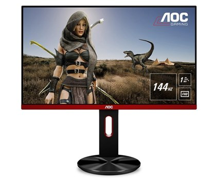 "AOC Gaming G2590PX 24.5"" Full HD FreeSync 144Hz Monitor,"