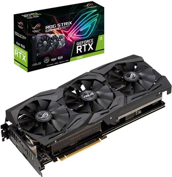 90YV0CI1-M0NA00, ASUS ROG STRIX GeForce RTX 2060 6GB Advanced Gaming Turing Graphics Card