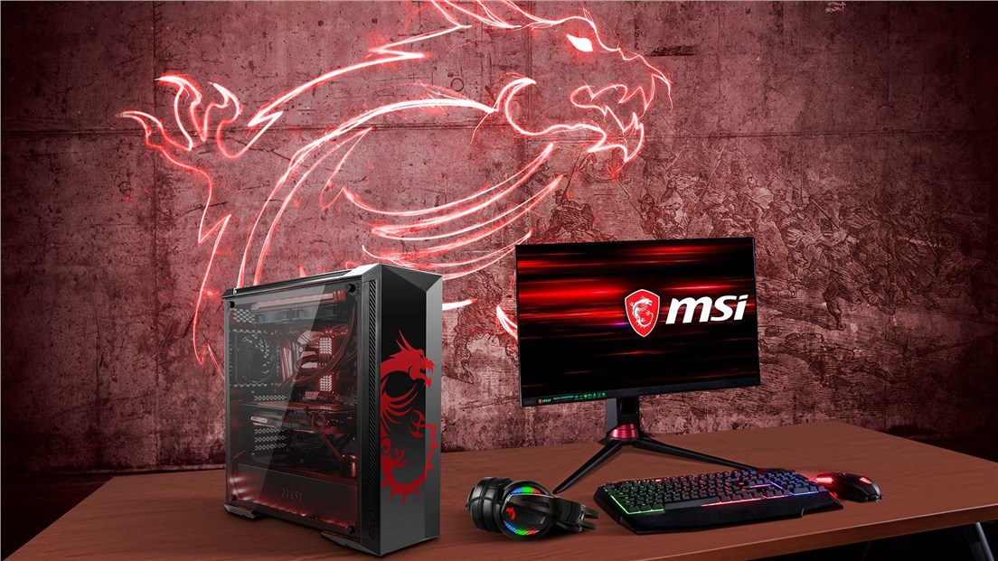 MSI MPG GUNGNIR 100D Tempered Glass Mid Tower Case