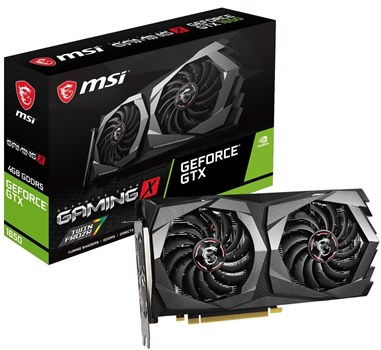 GTX 1650 GAMING X 4G, MSI GeForce 4G Graphics Card
