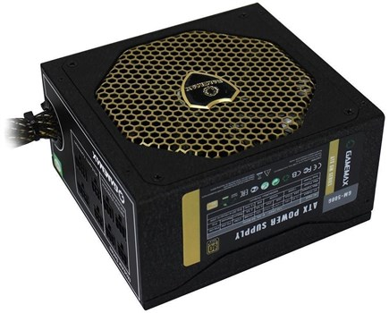 GM-500G, Game Max GM500 500W 80 PLUS Gold Semi-Modular PSU Power Supply