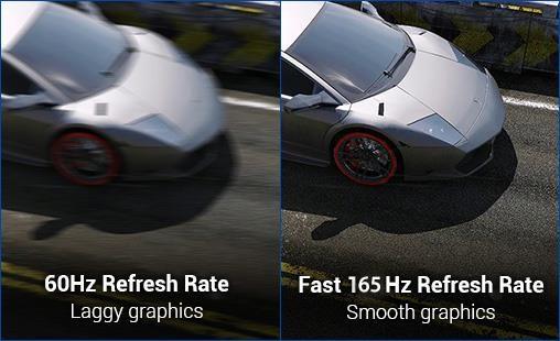 """ASUS VG248QG 24"""" Full HD G-Sync Compatible 165Hz Gaming Monitor"""