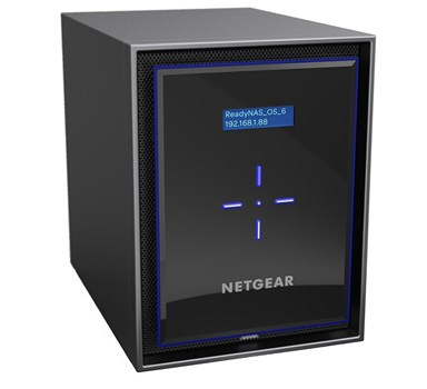 Netgear ReadyNAS RN426 36TB 6-Bay Desktop NAS with 6 x 6TB Western Digital Red Pro Drives, RN42600-100NES/36TB-RED
