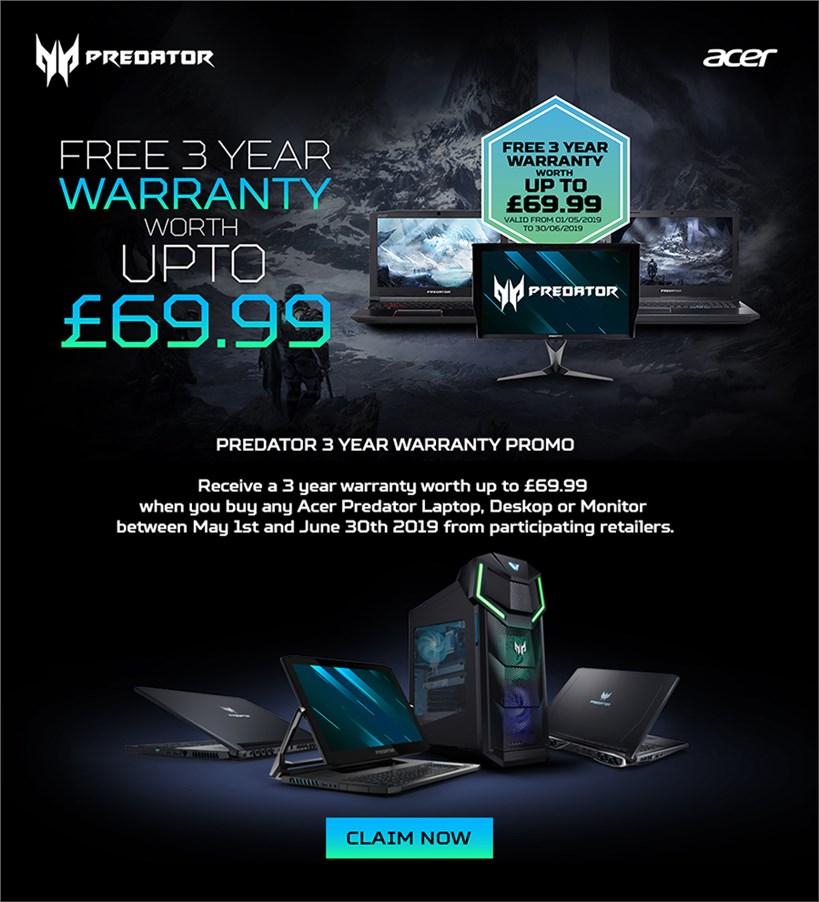 3 Year Warranty + More
